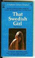 THAT SWEDISH GIRL, rare US Beacon Softcover Library sleaze gga pulp vintage pb