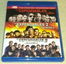 Expendables 1 2 3  Blu-ray Sylvester Stallone Jean-Claude Van Damme