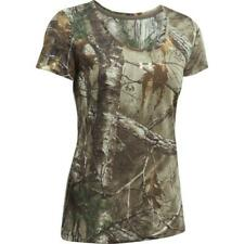 Under Armour Women's (Size Medium) Camo Threadborne Early Season Short Sleeve
