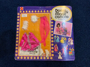 Donny & Marie Mattel Dolls - Vintage Fashions / Oufit - Fire on Ice