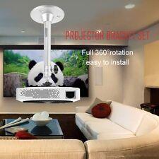 Portable Aluminium Alloy 360° Swivel Wall Ceiling Mini Projector Bracket GA