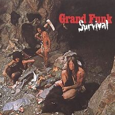 GRAND FUNK RAILROAD Survival CD BRAND NEW Bonus Tracks Remastered