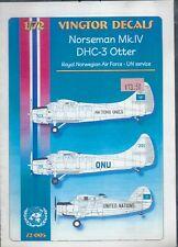 Norseman Mk. IV DHC-3 Otter in UN Service 1/72 Vingtor 72005