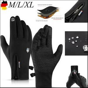 Wasserdicht Thermo Winter Warm Touchscreen Fahrrad Sport Handschuhe Herren Damen