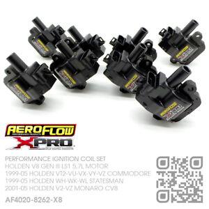 AEROFLOW IGNITION COIL SET V8 GEN III LS1 5.7L [HOLDEN VT2-VX-VY-VZ COMMODORE]