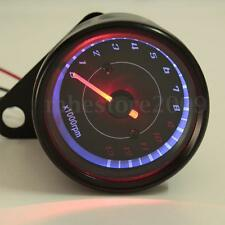 Universal Motorcycle LED Backlight Tachometer Speedometer Tacho Gauge 13000 RPM