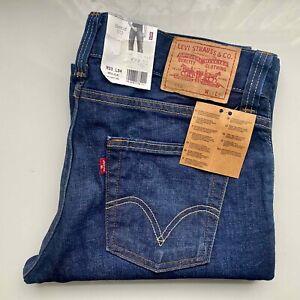 NEW VINTAGE LEVI's Original Jeans Bootcut 512 Schlaghose W33 L34 dark blau LEVIS