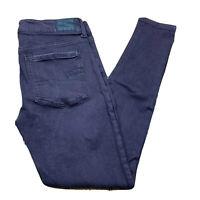 American Eagle Womens Jegging Super Stretch X Jeans Size 6 Regular Purple Pants
