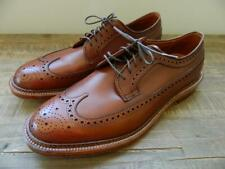 Alden for JCrew Collab $587 Longwing Bluchers Wing Tips Sz 11 Tobacco 97641 AVL