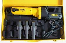 rems pressatrice Powerpress SE + 3 Pinze a pressione Lastra M O V + cassetta e
