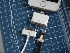 Adapter Micro USB or 30-Pin Female Apple to 8-Pin Male Lightning for iPHONE 5-11