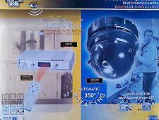kit caméra surveillance couleur anti-vol motorisée télécommandé NEUF