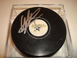 Ryan Garbutt Signed Autographed Dallas Stars Hockey Puck c