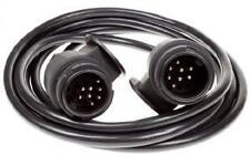 13 Pin Trailer extension lead 3m long 2 x 8 pin plugs and 8 core cable
