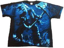 Rare raramente Geil Official Iron Maiden Benjamin Breeg heavy metal t-shirt L