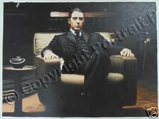 The Godfather Al Pacino Oil Painting Hand-Painted Art Canvas NOT a Print Poster