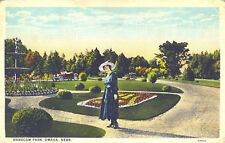 Omaha,NE. Woman in Hancom Park
