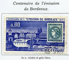 TIMBRE FRANCE OBLITERE N° 1659  EMISSION DE BORDEAUX