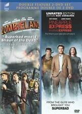 Pineapple Express (Unrated)/Zombieland (DVD, 2012, 2-Disc Set, Canadian) NEW