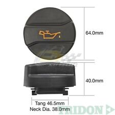 TRIDON OIL CAP FOR Volkswagen Beetle New 1.8 Turbo 09/01-11/05 4 1.8L AWU