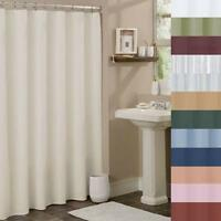 Shower Curtain Liner Vinyl  w/Grommets Magnetic Mildew Resistant Waterproof