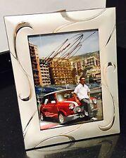 Takuma Sato Signed 6x4 Framed Photo - [Monte Carlo, Mini Cooper, Super Aguri]