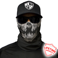 MOTORCYCLE FACE MASK - SKULL DECAY - (Moto, Hunting, Fishing, Paintball)