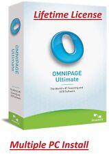 Nuance OmniPage Ultimate 19 | OCR Scanning | Digital Download | Lifetime License