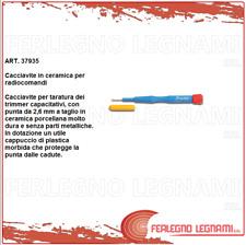 CACCIAVITE CERAMICO PER RADIOCOMANDI GIRAVITE TARATURA CON CAPPUCCIO 37935