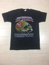 Vintage Super Bowl XXIX SAN FRANCISCO 49ers Champions Size Large Tee Shirt