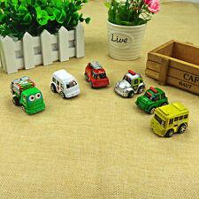 6x Kids Truck Vehicle Children Boy Girl Small Mini Pull Back Cars Xmas Gifts RS