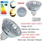 LAMPADINA LED MR16 GU5.3 DC12V/ GU10 3W/5W 230V LAMPADA GIORNO/BIANCO CALDO LUCE