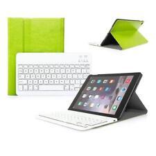 PU-Leder Hülle mit Tastatur Leather Case Wireless Keyboard spanish iPad Air/Air2