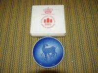 Bing & Grondahl Mothers Day Plate 1975 Deer Mors Dag Copenhagen Porcelain