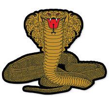 "Cobra snake car styling auto moto sticker 5"" x 4"""