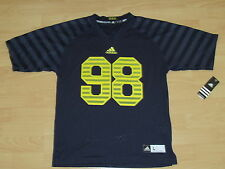 ADIDAS MICHIGAN WOLVERINES #98 FOOTBALL JERSEY YOUTH LARGE - LIMITED EDITION