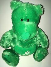 "Jelly Belly Green Bear  14"" Plush Stuffed Animal"