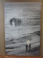 vintage Shakespeare quote poster beach   5112