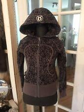 Lululemon hoodie scuba manifesto  zip up size 4