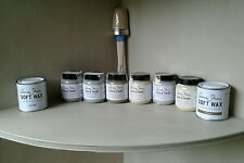 Annie SLOAN vernice progetto Pack - 1 Spazzola + 2 vasi di vernice + 2 CERE-colore a scelta