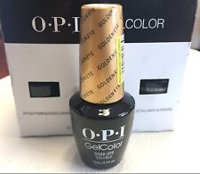 OPI Gel Color Polish HL D24 GOLDENEYE  2012 James Bond Skyfall 007 Collection