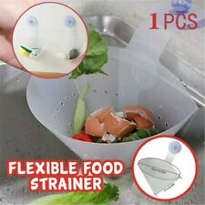 1X Kitchen Drain Food Catcher Foldable Anti-Blocking Device Sink Strainer Filter