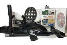 Wii Play Black Accessory Kit Wii Play Video Game Nunchuck & Bag Great Condition