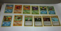 1st EDITION Pokemon Fossil -12 Lot- Non Holo, all NM/Mint  Krabby Geodude Grimer