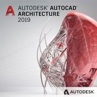 Autodesk AutoCAD Architecture 2019 | 2 Geräte | 3 Jahre Laufzeit für Windows
