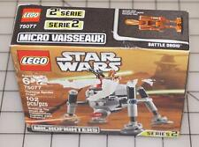 LEGO Star Wars Microfighters 75077 Homing Spider Droid Series 2 Battle Droid