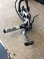 Honda Cbr1000 Fk Right Footrest Hanger / Master Cylinder Brake Pedal Etc
