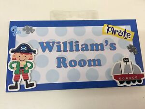 WILLIAM My Room Sign/Plaque With FREE POSTAGE CLEARING - BRAND NEW