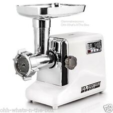 Electric Meat Grinder Sausage #12 STX 3 Speed Kubbe Plates Stuffing Tubes 3000W