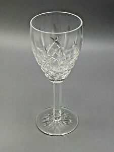 """Araglin by Waterford clear Crystal Water Goblet  7 7/8"""", gently used"""